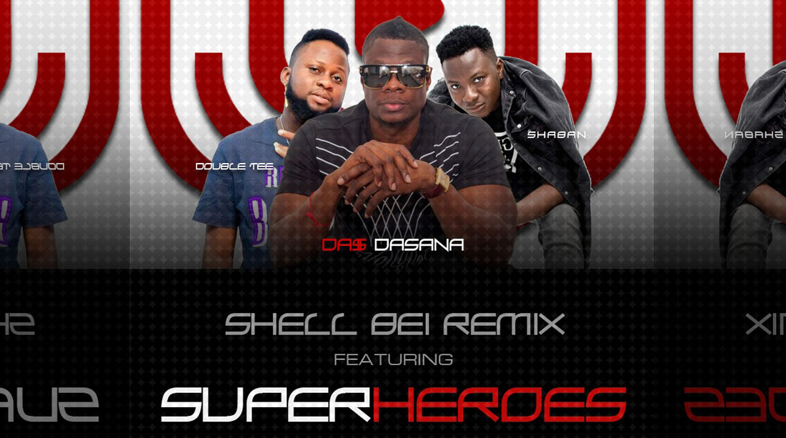 SUPERHEROES – SHELL BEI (REMIX)